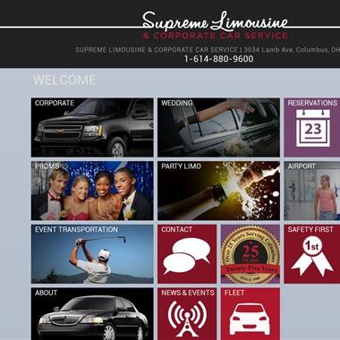Supreme Limousine wedding vendor preview