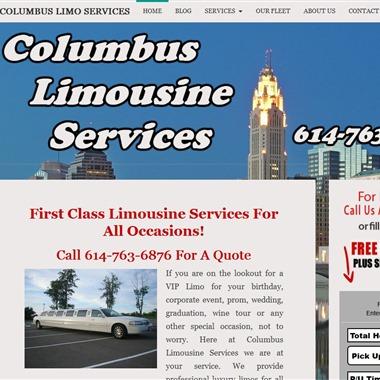 Columbus Limousine Service wedding vendor preview
