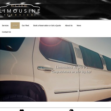 Elite Limousine Service wedding vendor preview