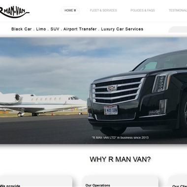RManVan Limo & Luxury Car Services wedding vendor preview