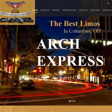 Arch Express Transportation wedding vendor preview