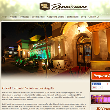 Renaissance Banquet wedding vendor preview