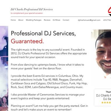 DJ Charlo Professional DJ Services wedding vendor preview
