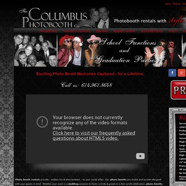 The Columbus Photo Booth Company wedding vendor preview