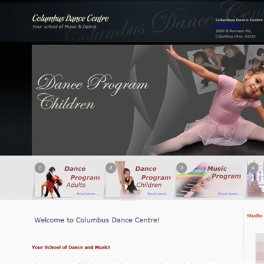 Columbus Dance Centre wedding vendor preview