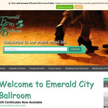 Emerald City Ballroom wedding vendor preview