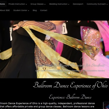 Ballroom Dance Experience of Ohio wedding vendor preview