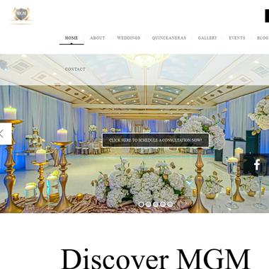 Mgm Banquet Hall wedding vendor preview