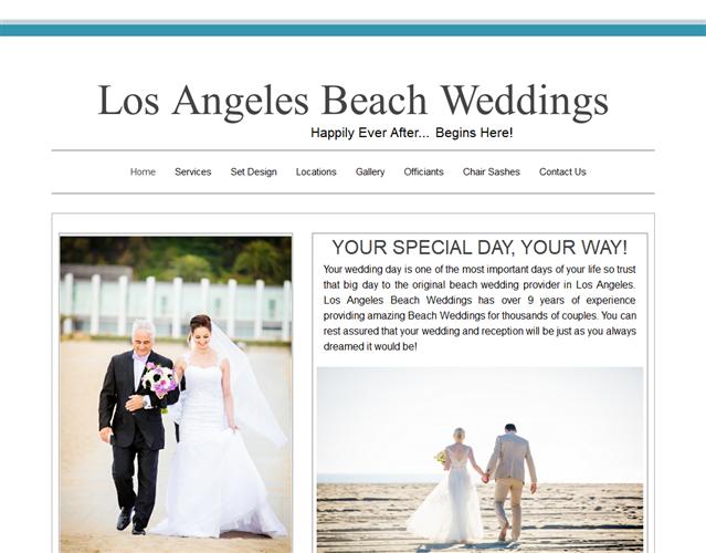 Los Angeles Beach Weddings wedding vendor photo