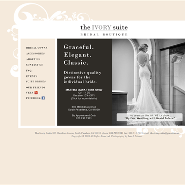 The Ivory Suite wedding vendor preview