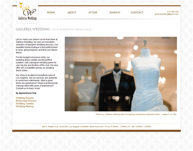 Galleria Wedding wedding vendor photo