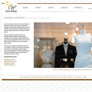 Galleria Wedding wedding vendor preview