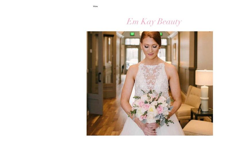 Em Kay Beauty wedding vendor photo