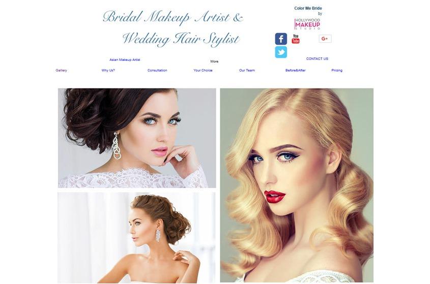 Bridal Make up Artist and Wedding Hairstylist wedding vendor photo