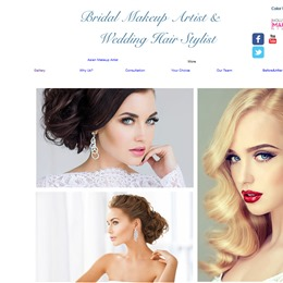 Bridal Make up Artist and Wedding Hairstylist photo