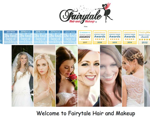 Fairytale Hair and Makeup wedding vendor photo