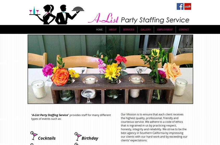 A-List Party Staffing wedding vendor photo