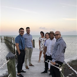 Photo of Fondo Blanco Latin Band, a wedding musician in Miami