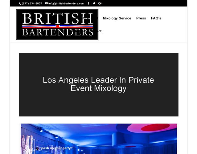 British Bartenders wedding vendor photo