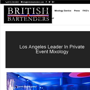British Bartenders wedding vendor preview