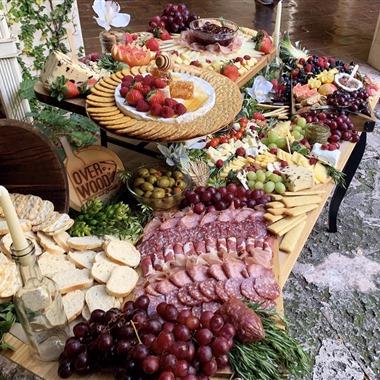 Overwood Artisan Platters wedding vendor preview