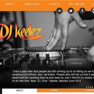 Dj Keelez wedding vendor preview
