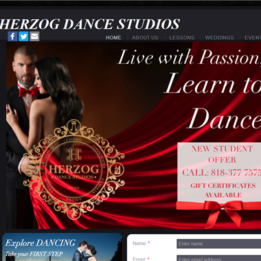 Herzog Dance Studios wedding vendor preview