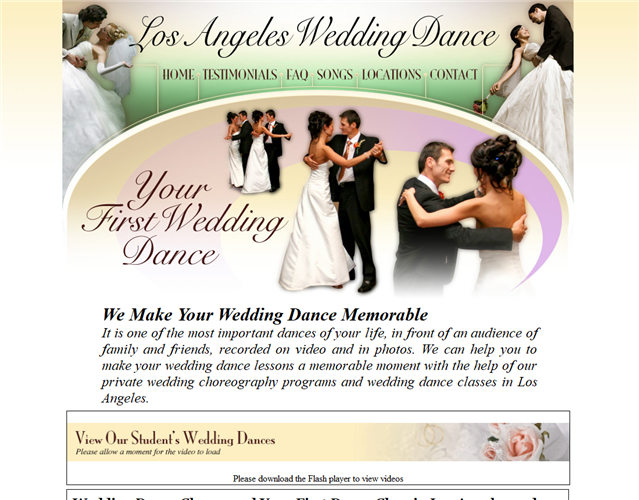 LA Wedding Dance wedding vendor photo