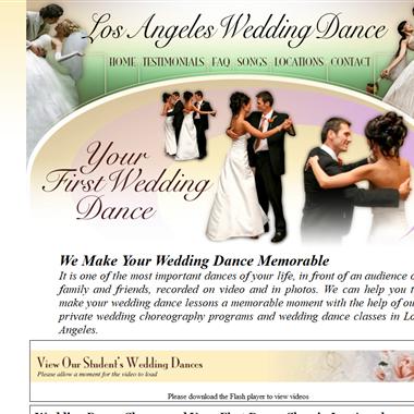 LA Wedding Dance wedding vendor preview