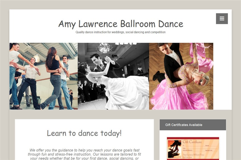 Amy Lawrence Dance wedding vendor photo