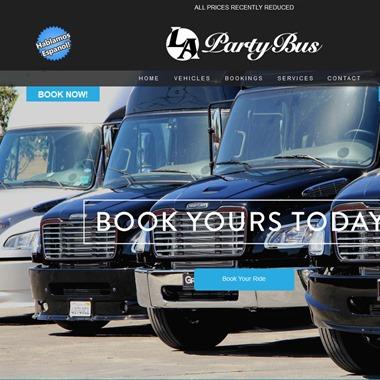 LA Party Bus wedding vendor preview