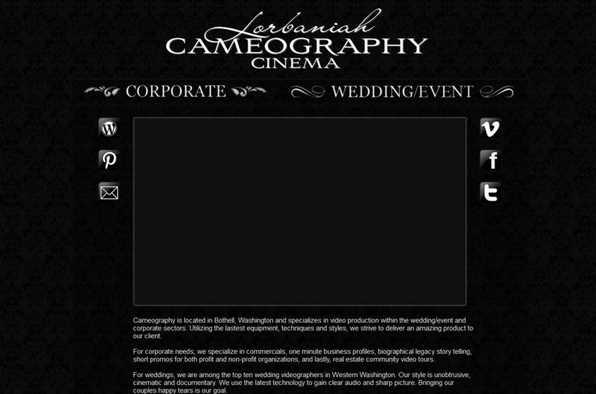 Lorbaniah Cameography wedding vendor photo