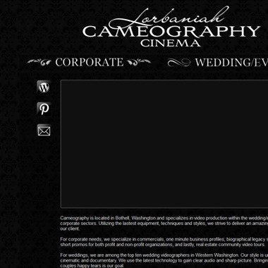 Lorbaniah Cameography wedding vendor preview