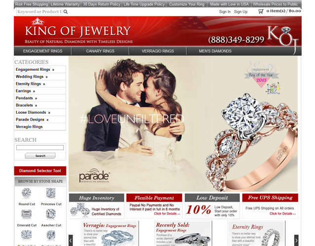 King of Jewelry wedding vendor photo