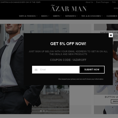 Azar Man wedding vendor preview