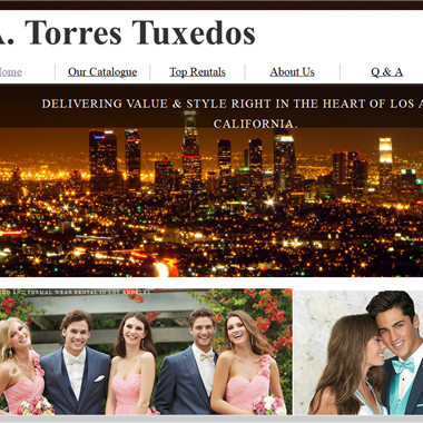 A Torres Tux wedding vendor preview