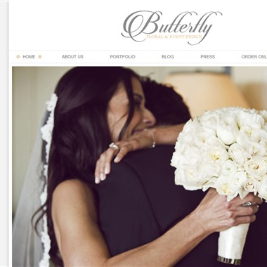 Butterfly Floral Design wedding vendor preview