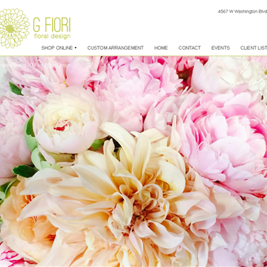 G Fiori wedding vendor preview