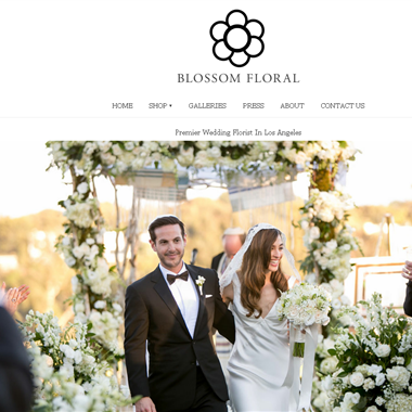 Blossom Floral wedding vendor preview