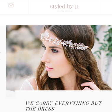 Styled by TC wedding vendor preview