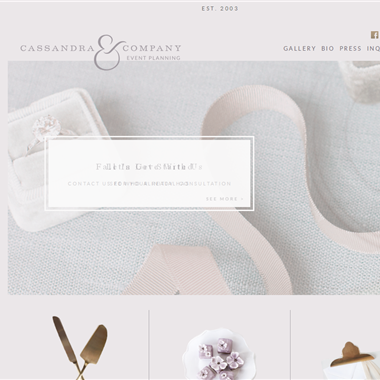Cassandra Company wedding vendor preview