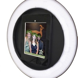 Photo of HootBooth Photo Booth Test, a wedding Photo Booths in Lago Vista
