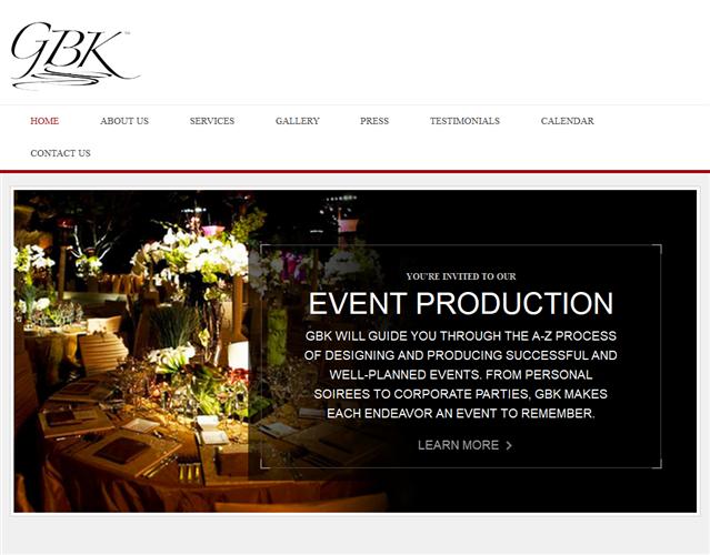 GBK Productions wedding vendor photo