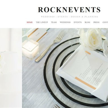 Rock N' Events wedding vendor preview