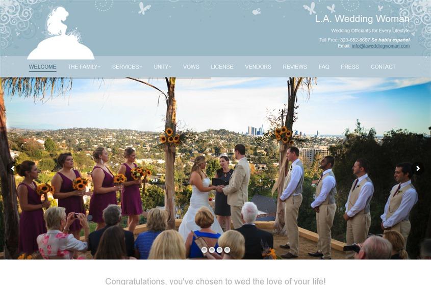 LA Wedding Woman wedding vendor photo
