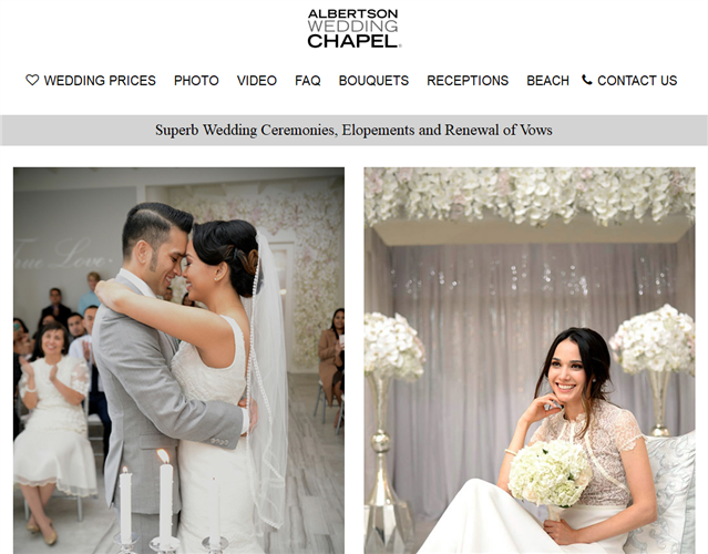 Albertson Wedding Chapel wedding vendor photo