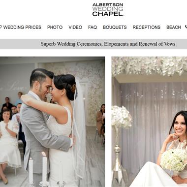 Albertson Wedding Chapel wedding vendor preview