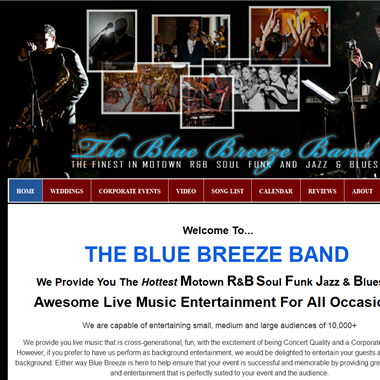 Blue Breeze Band wedding vendor preview