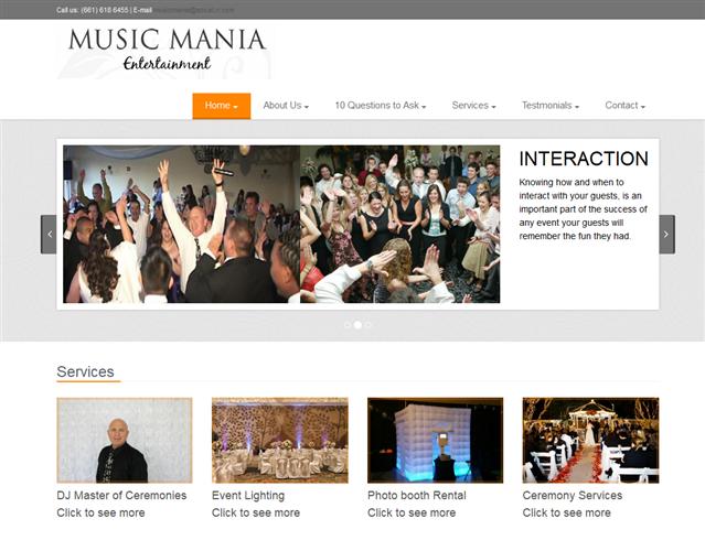 Music Mania Entertainment wedding vendor photo