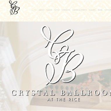 Crystal Ballroom Houston wedding vendor preview